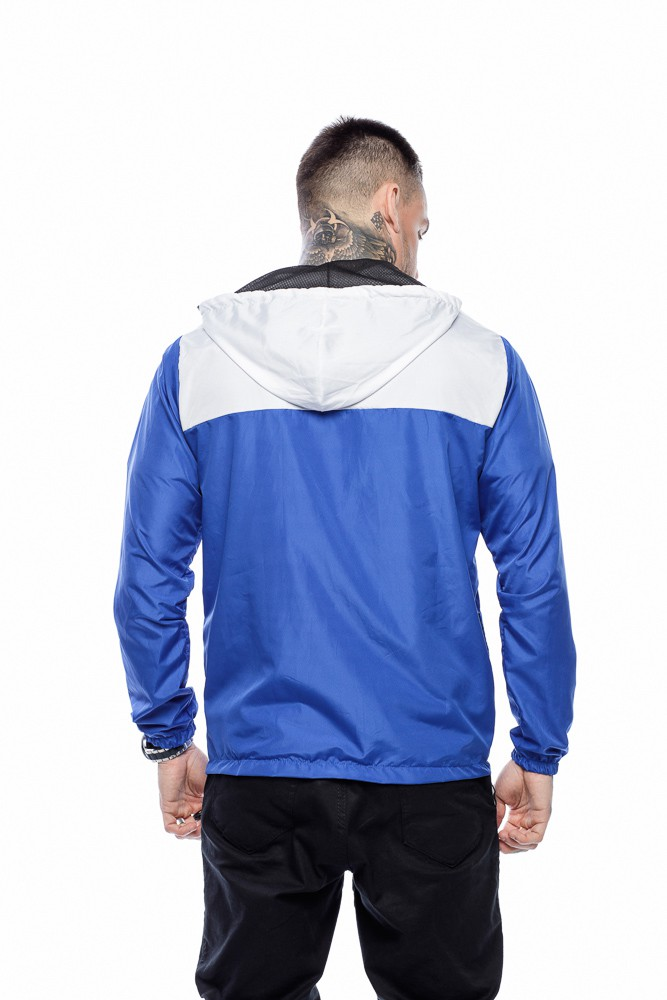 Jaqueta Corta Vento Masculina Azul