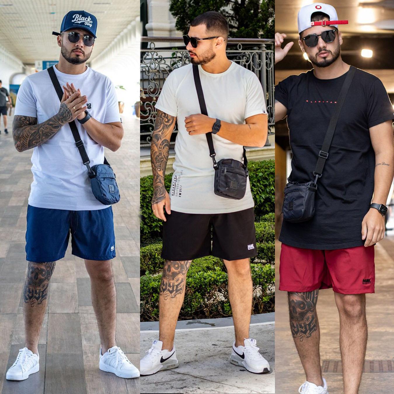 Kit 3 Shorts Max Street Summer BT