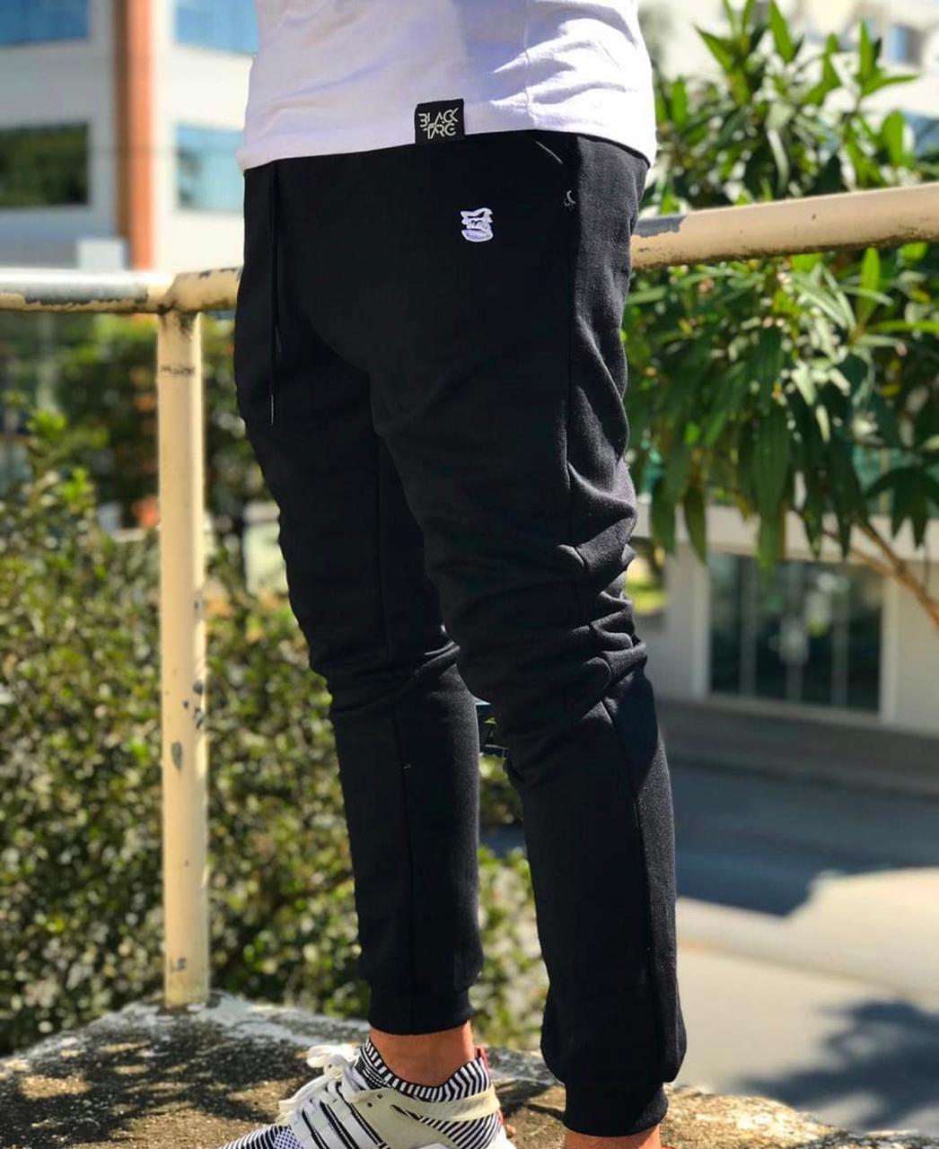 Kit Black - 2 Calças Moletom Masculina