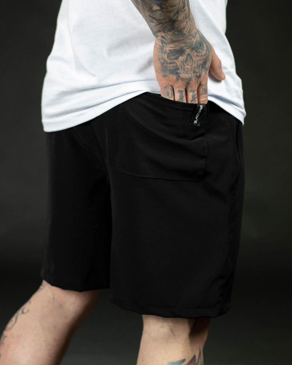 Kit Black - 2 Shorts Max - Intense Black Training