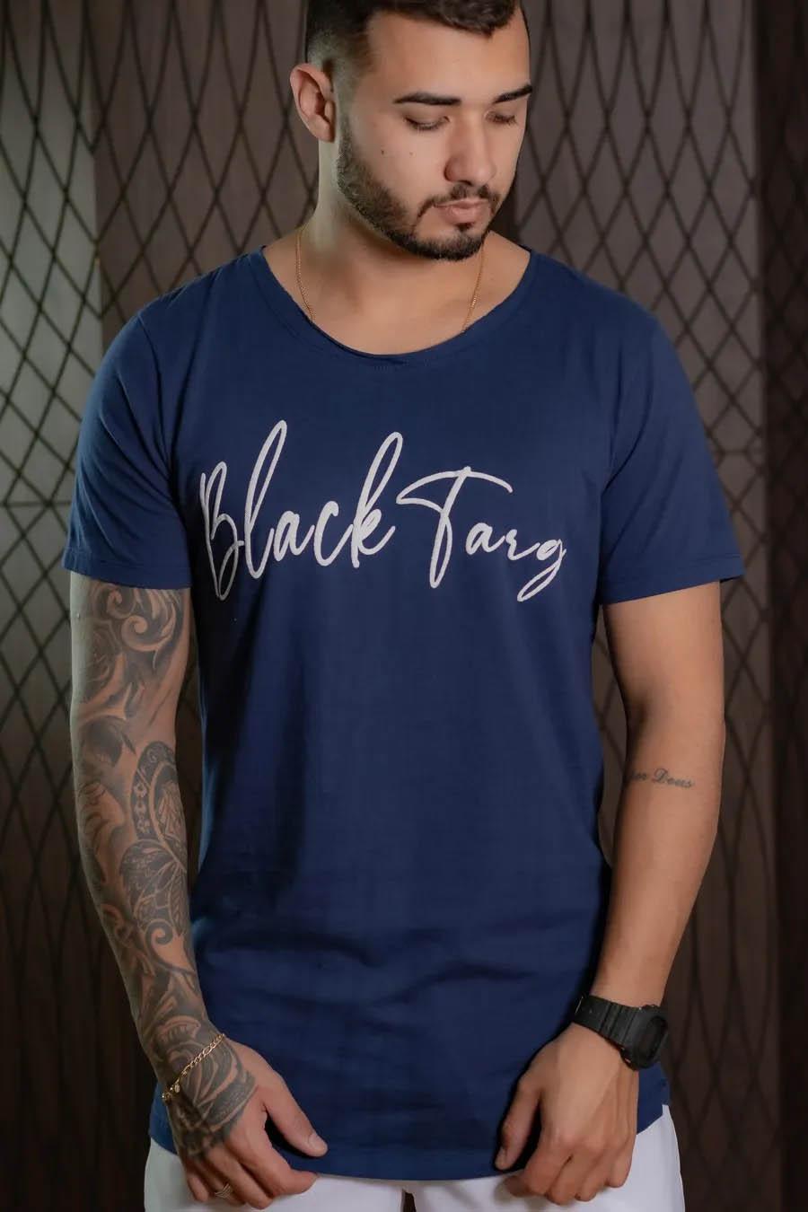 Kit Black - 3 Camisetas Longline Black Targ Collection