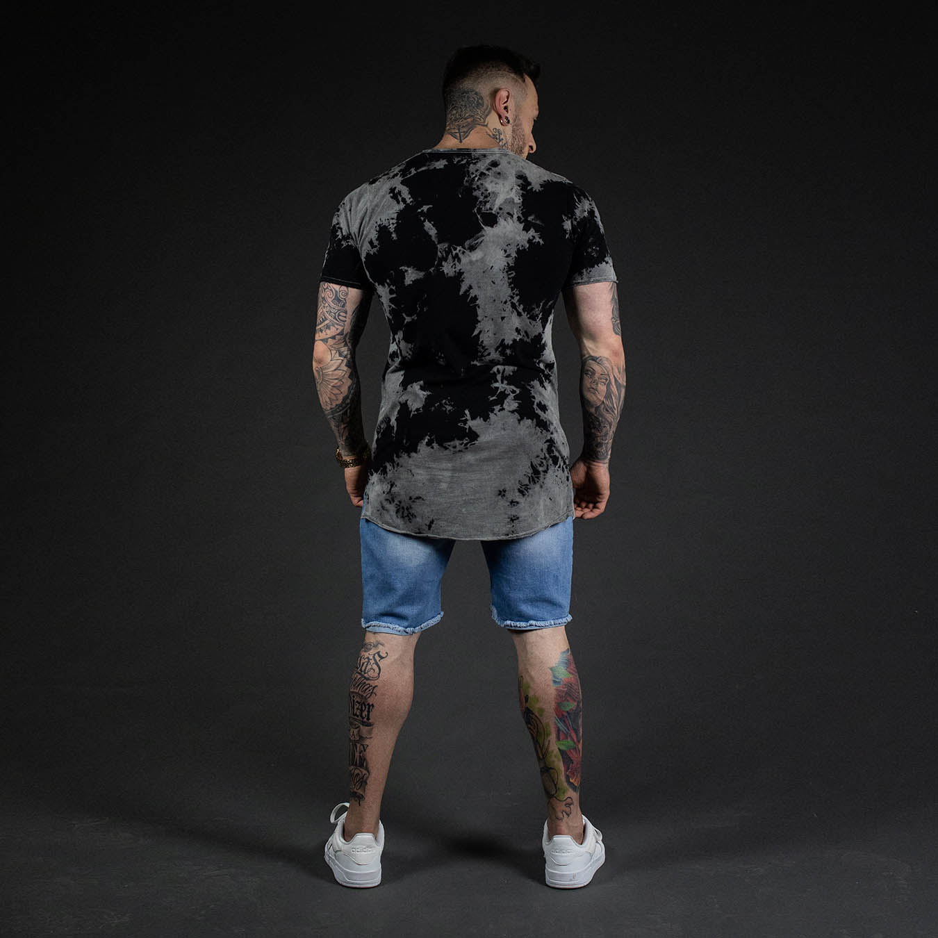 Kit Camiseta Estonada BT + Short Jeans TearLine