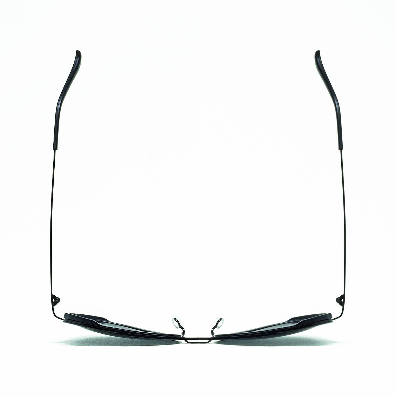 Óculos De Sol Masculino Aviador Preto