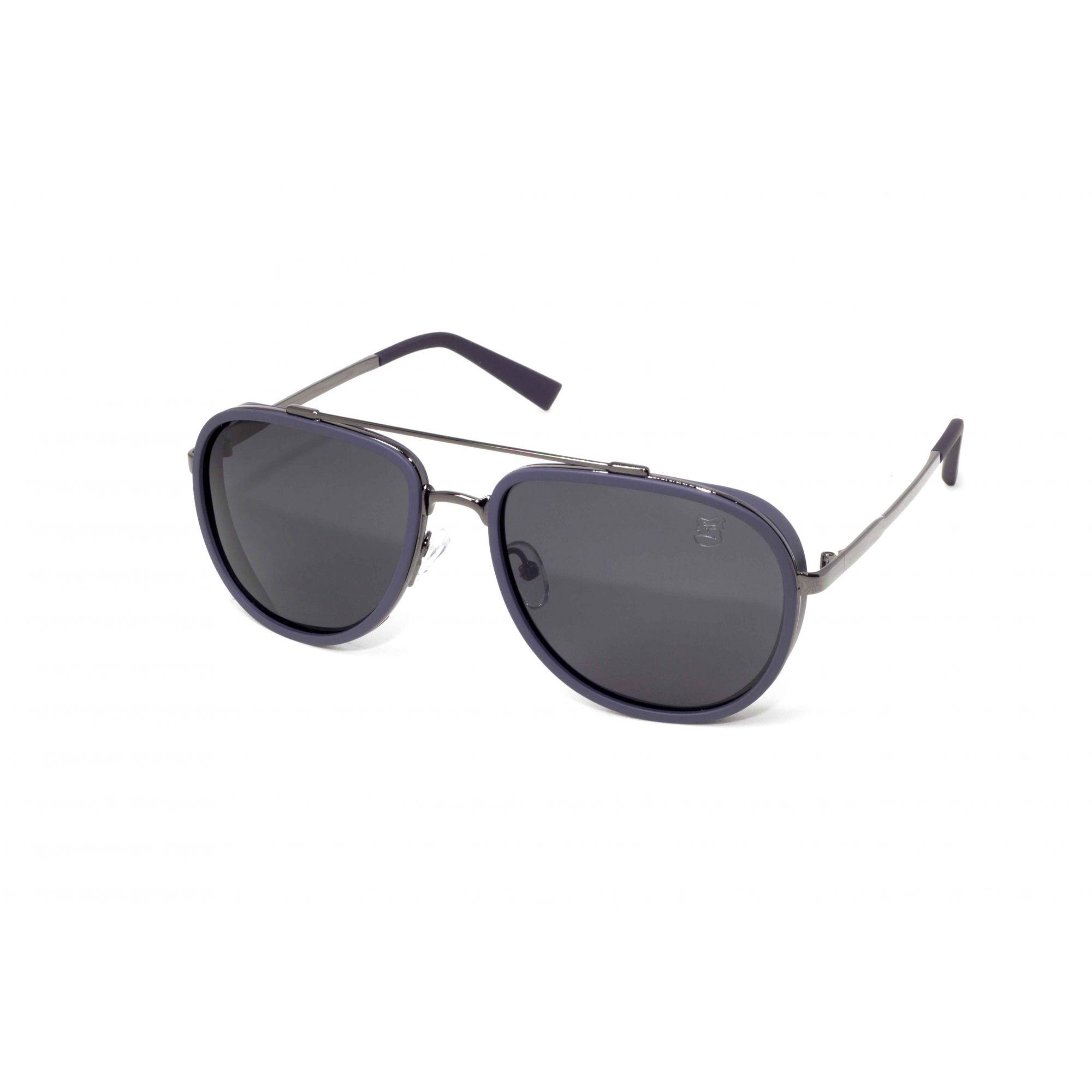 Óculos De Sol Masculino Aviador Steampunk