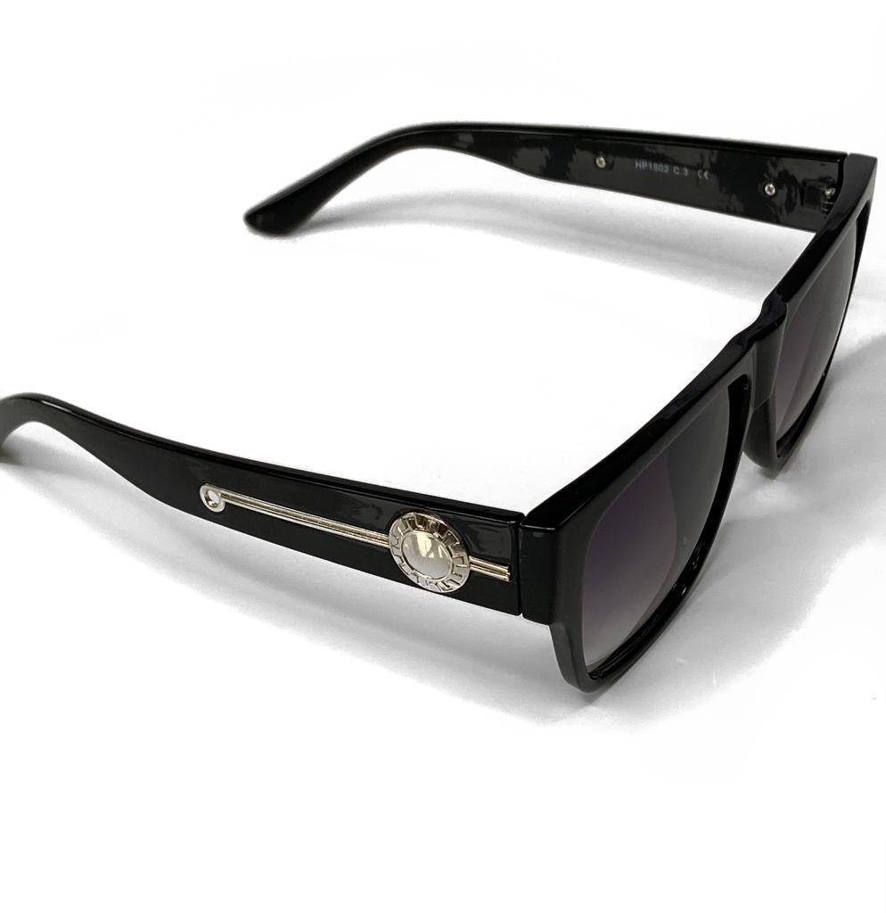 Óculos De Sol Masculino Quadrado Preto