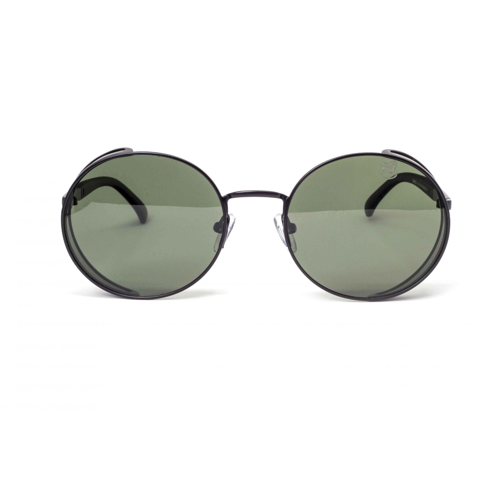 Óculos De Sol Masculino Steampunk Preto