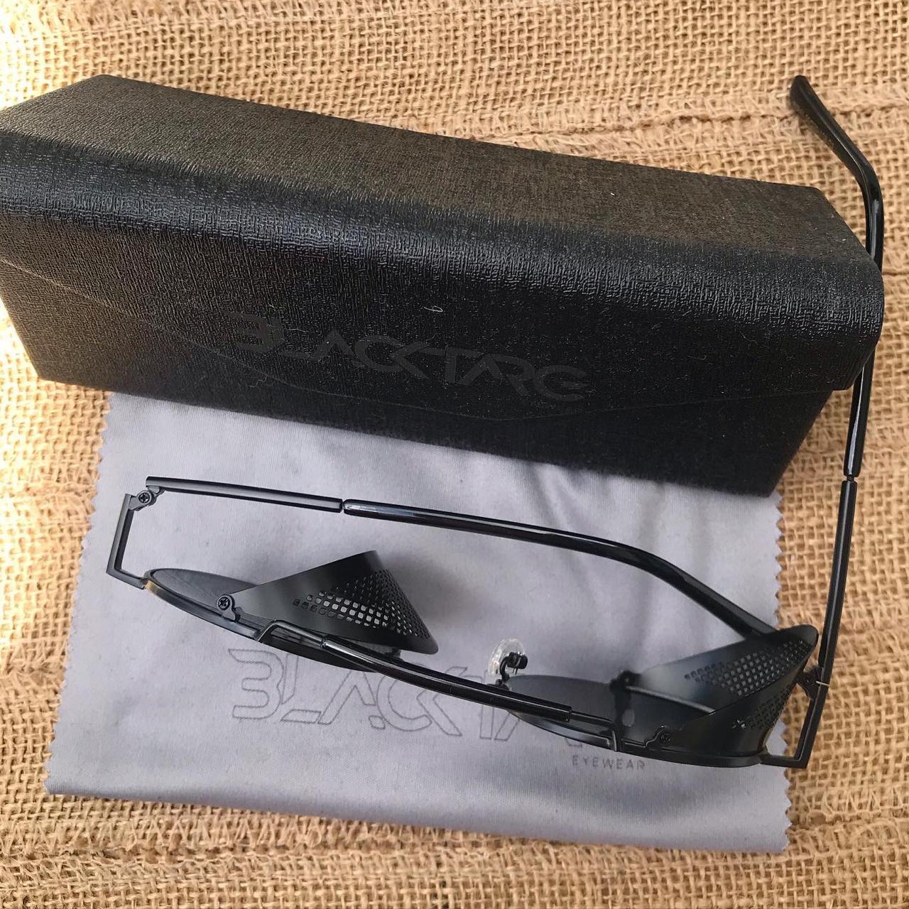 Óculos De Sol Masculino Steampunk Retro preto