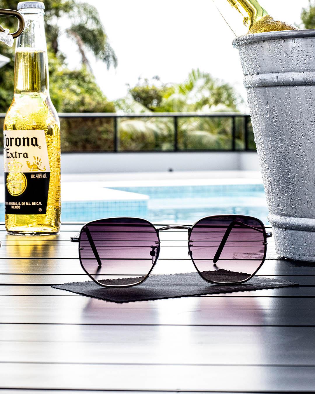 Óculos de Sol Purple Lux