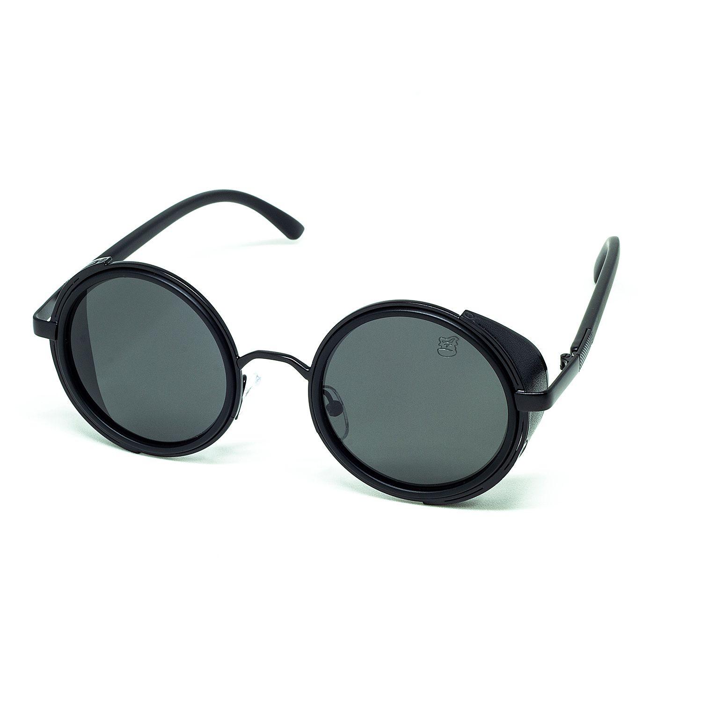 Óculos De Sol Masculino Vintage Steampunk