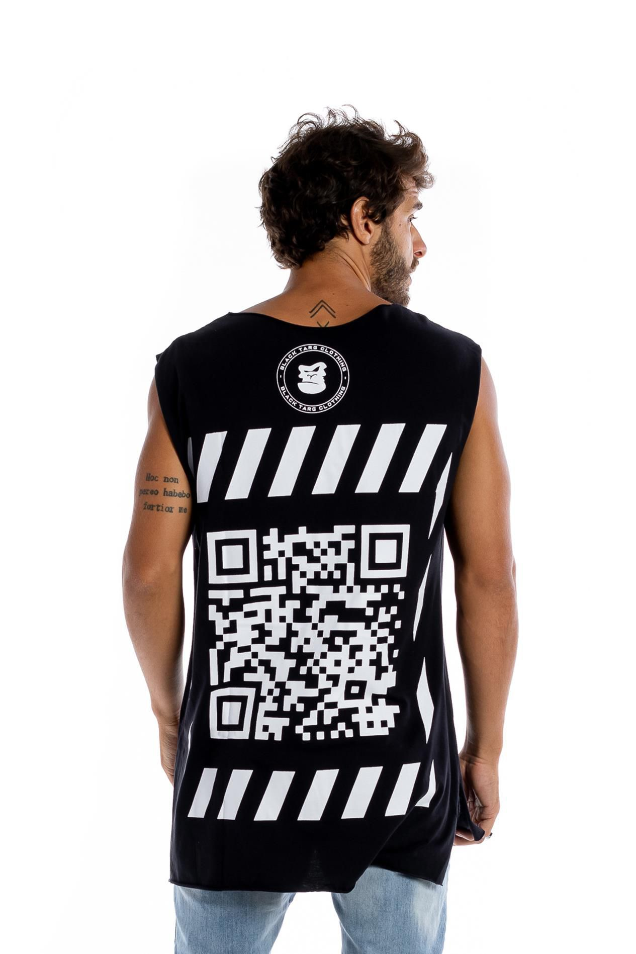 Regata longline masculina preta code