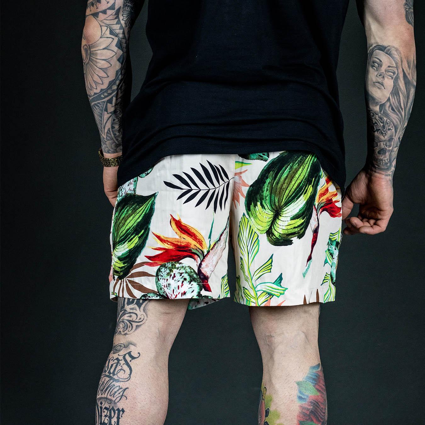 Shorts Flowers Summer