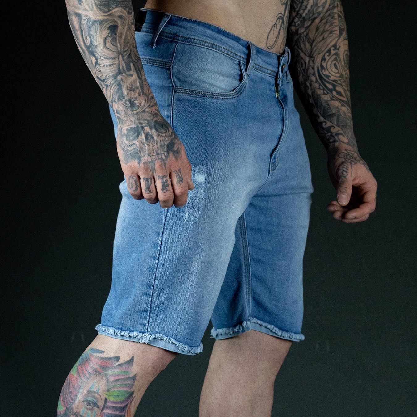 Bermuda Jeans TearLine