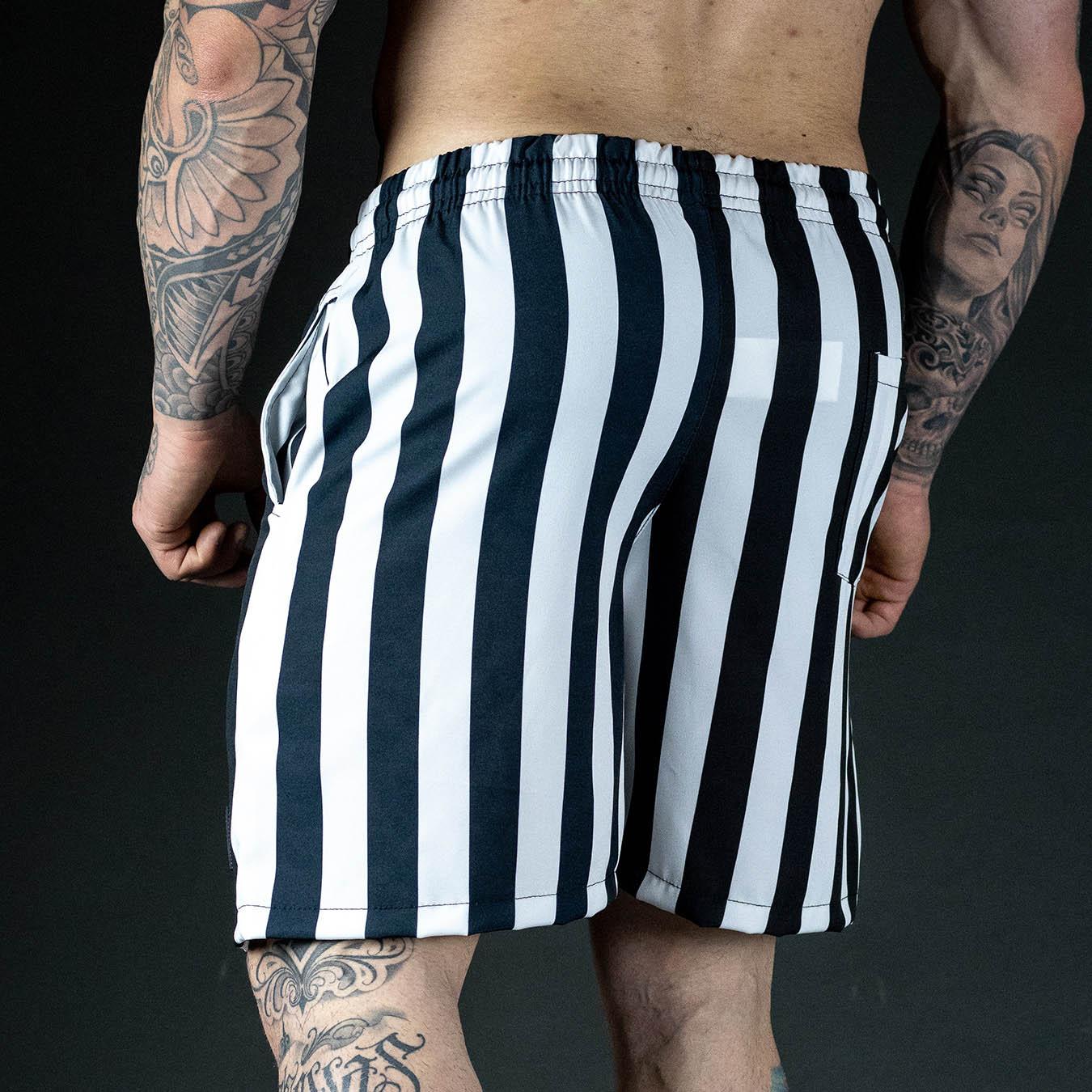 Shorts Praia White and Black Ranges
