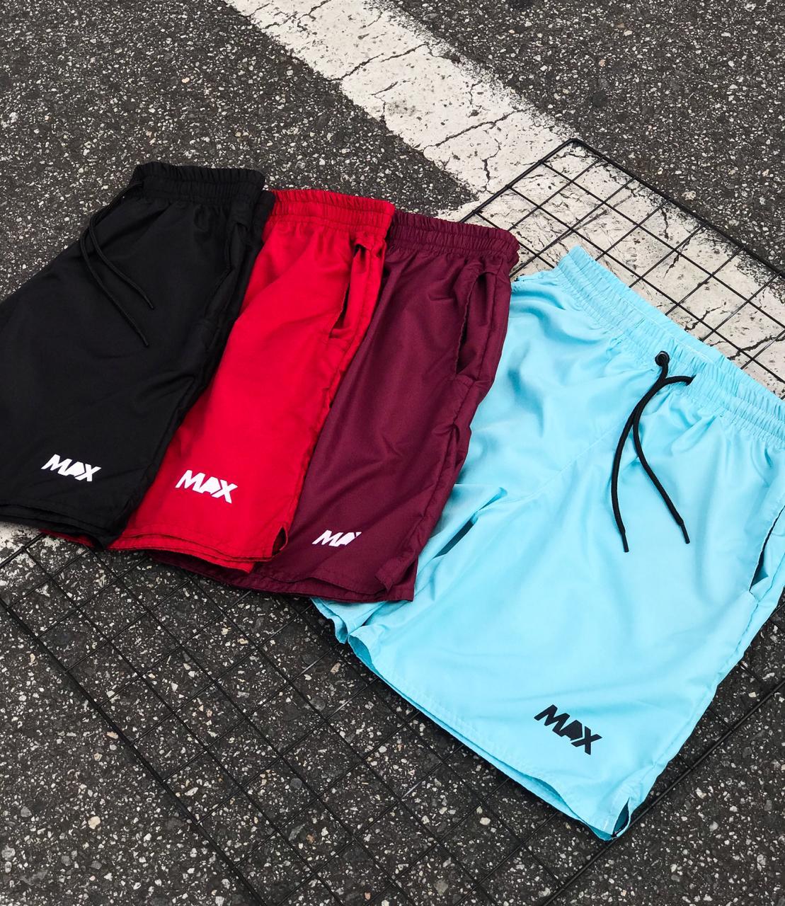Shorts Masculino Max Bordô
