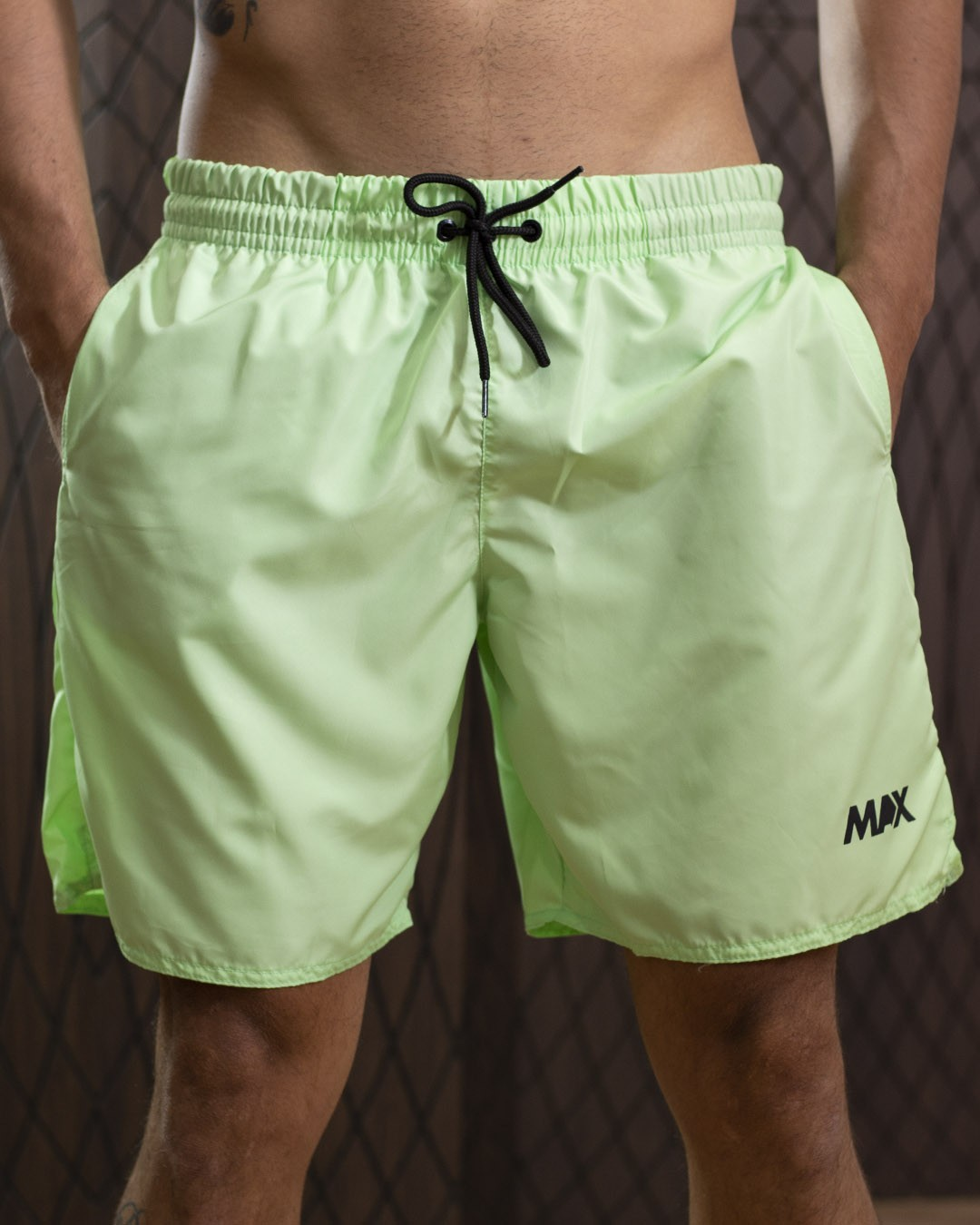 Shorts Masculino Max Verde claro