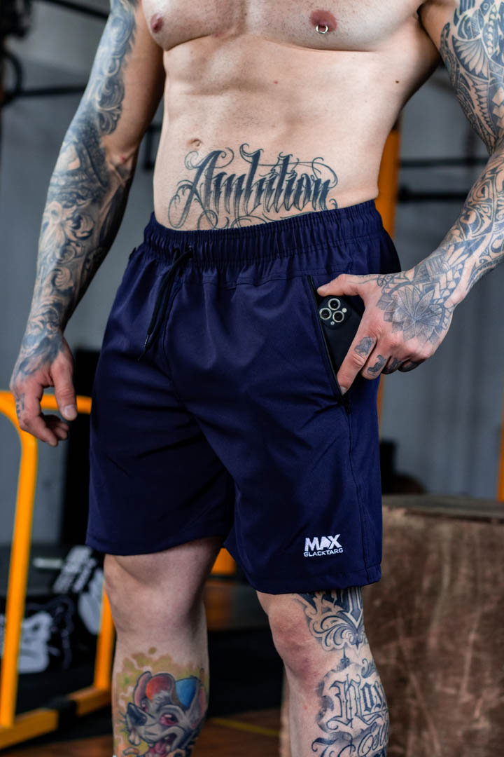 Shorts Max Masculino Booster Azul Marinho