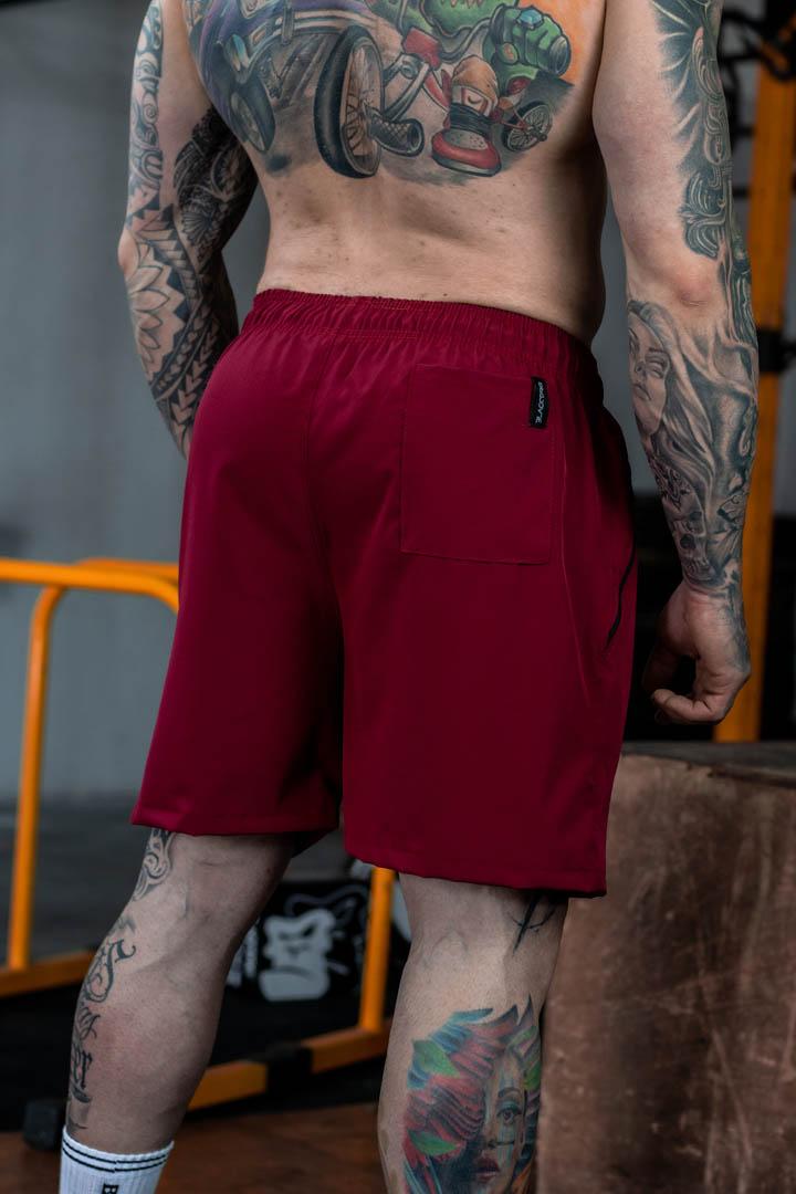 Shorts Max Masculino Bordô Winner