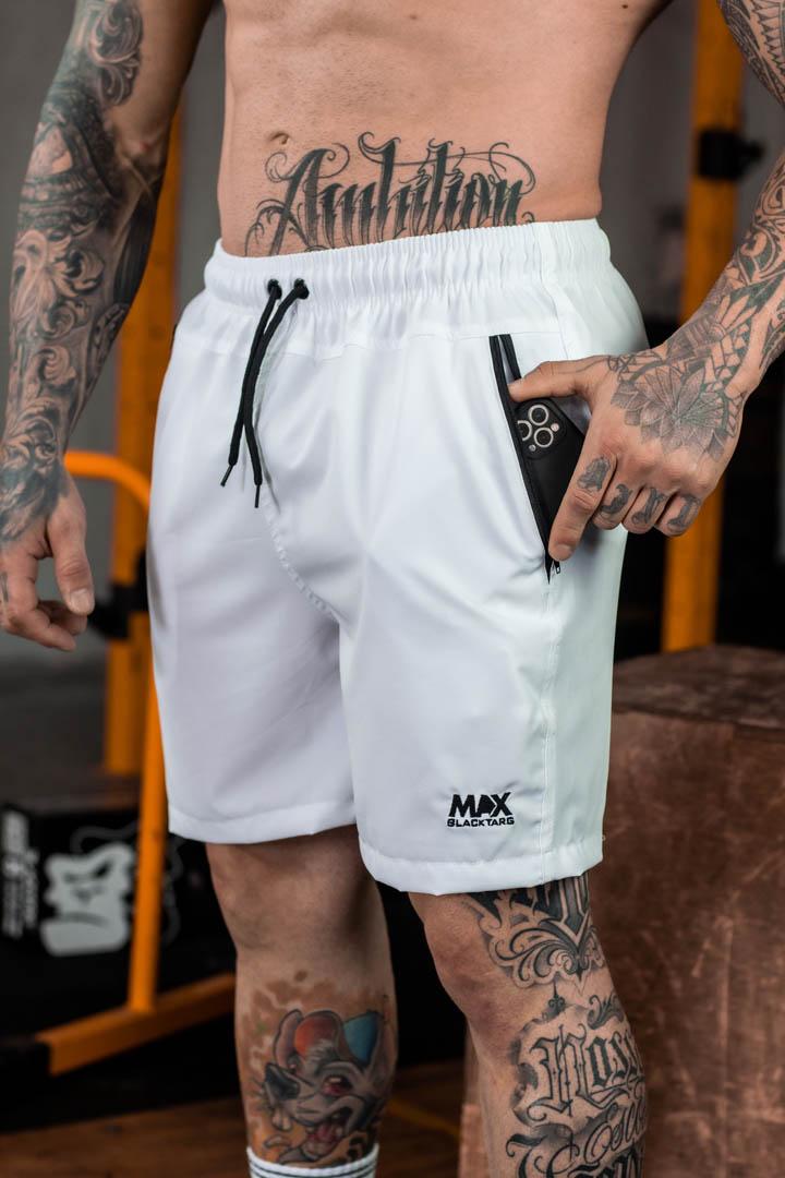 Shorts Max Masculino Brutal Branco