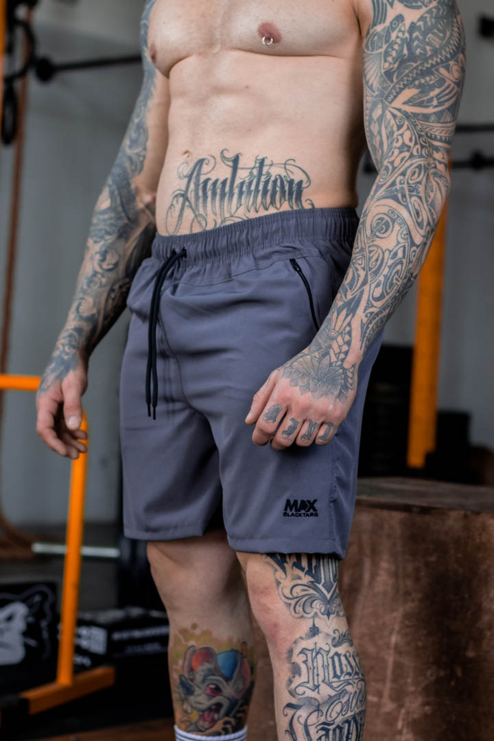 Shorts Max Masculino Smoke Cinza