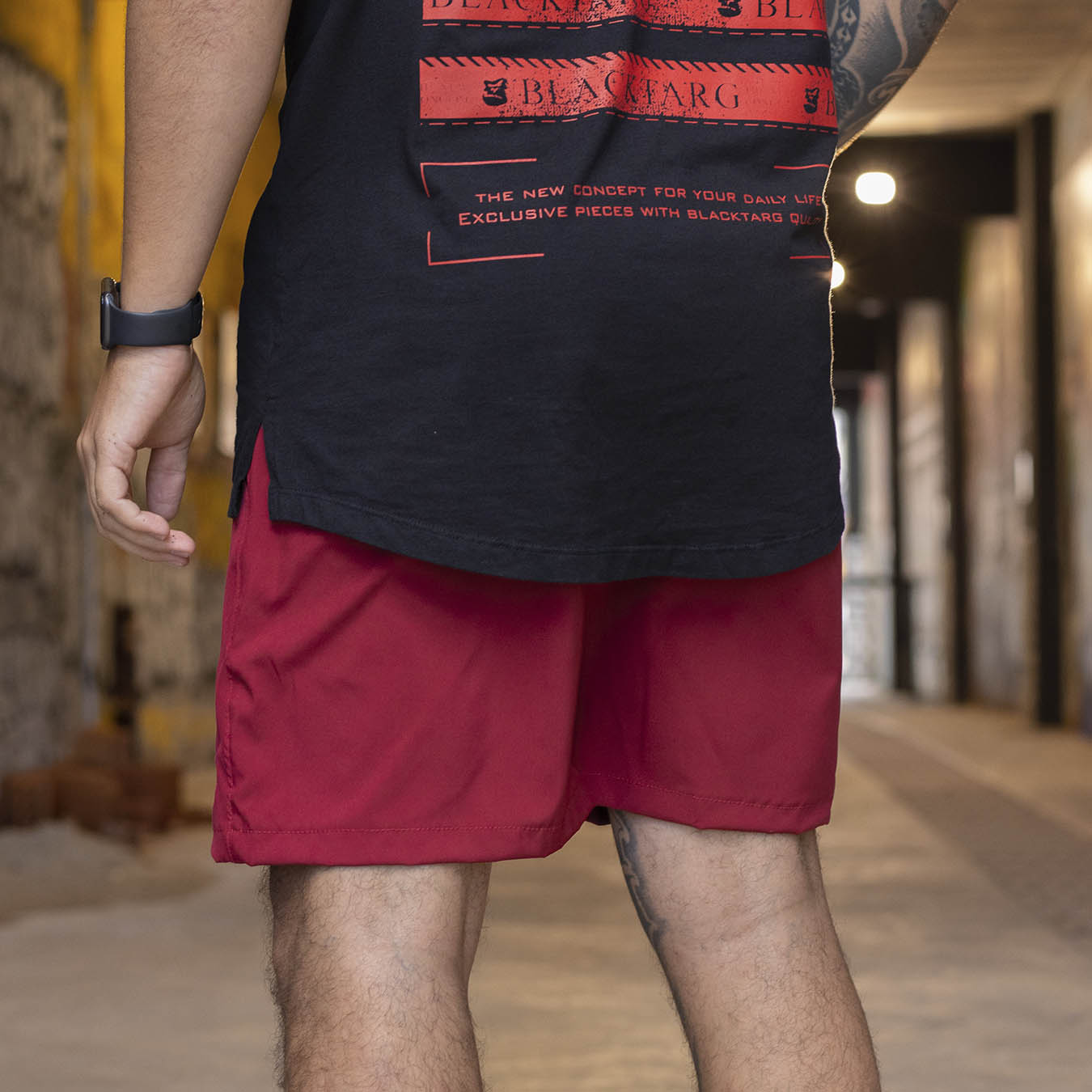 Shorts Max Red Summer