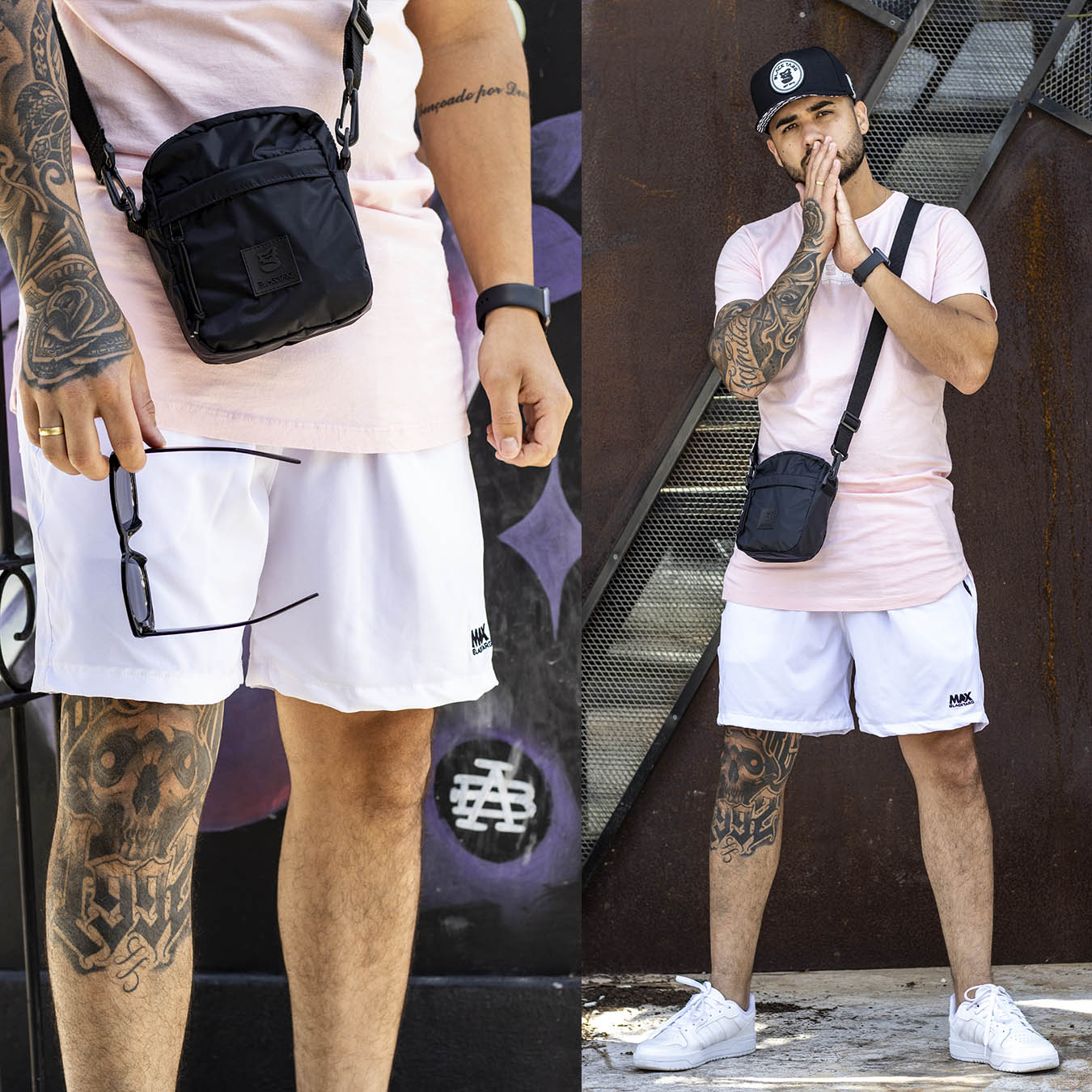 Shorts Max White Street