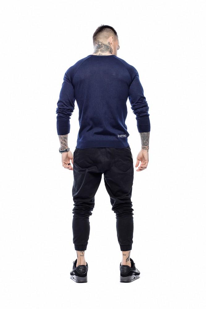 Suéter Masculino Básico Azul