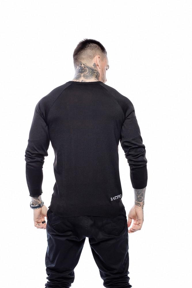 Suéter Masculino Básico Preto