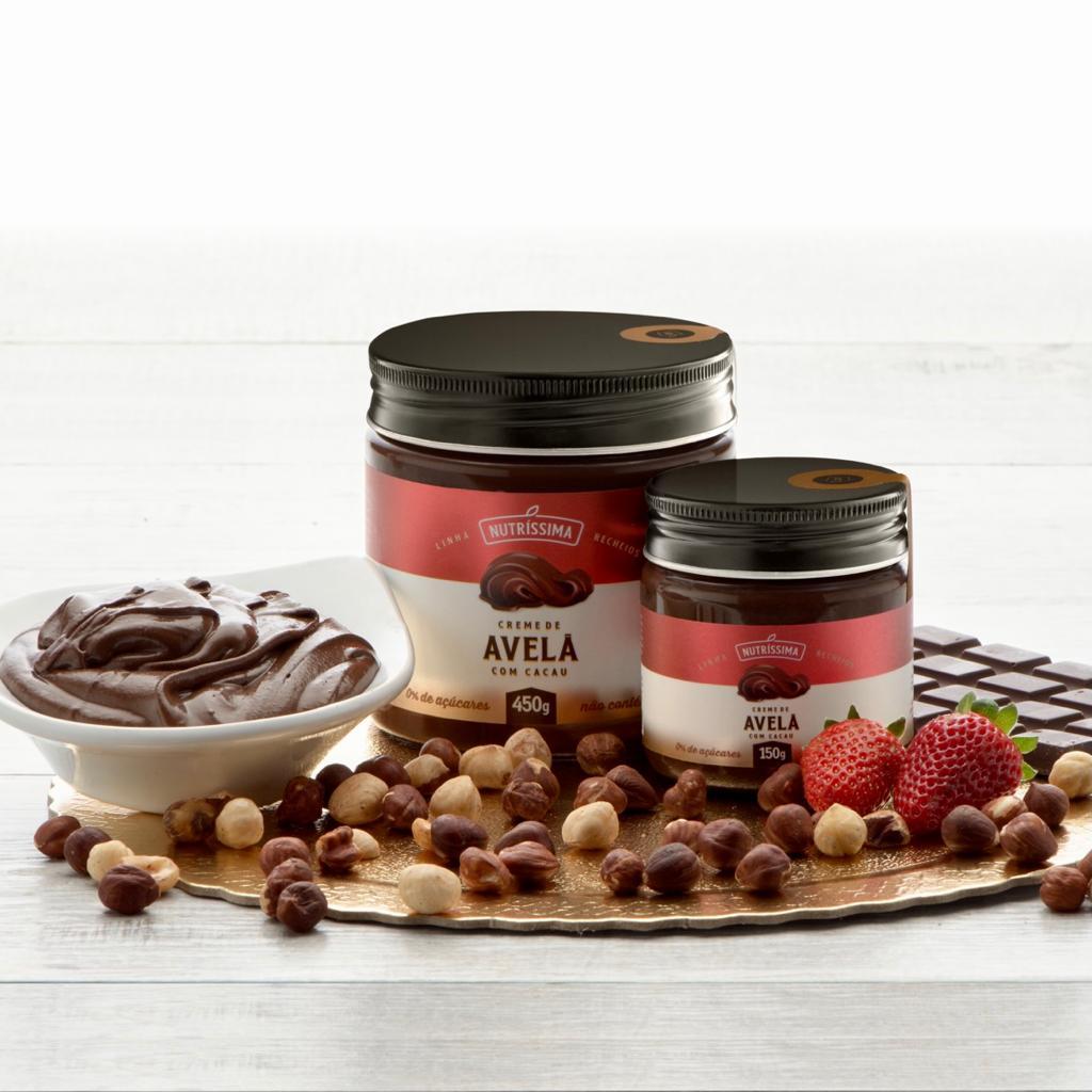 Creme de Avelã com Chocolate Zero açúcar 450g
