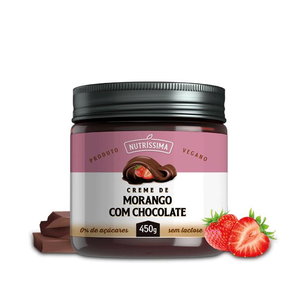 Creme Sensação de Chocolate com Morango 450g