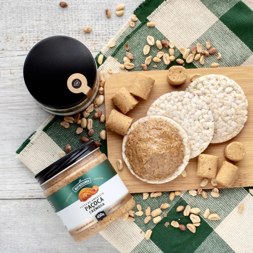 Pasta de Amendoim Paçoca Cremosa 450g