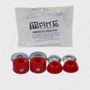 Amortecedor Make - Vermelho/Prata