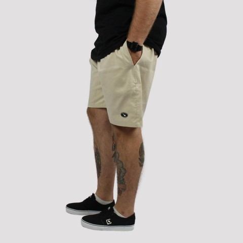 Shorts Blaze Supply Patch - Bege