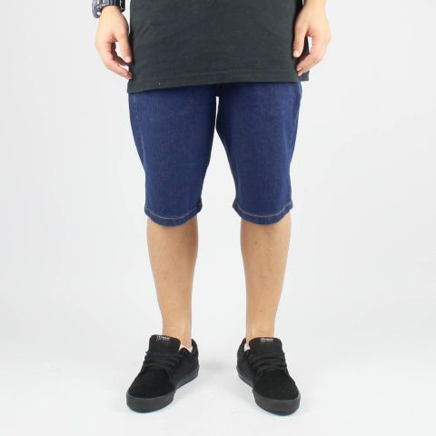 Bermuda Hocks Stak Jeans Escuro