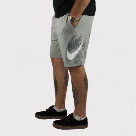 Bermuda Nike SB Dry - Cinza/Branco