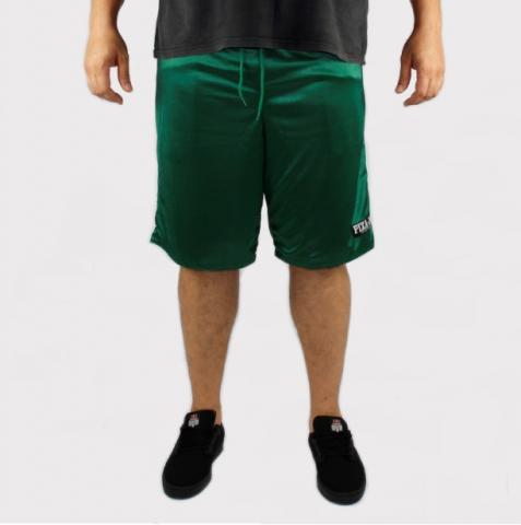 Bermuda Pixa in Dupla Face (Tamanho Extra) - Verde/Verde
