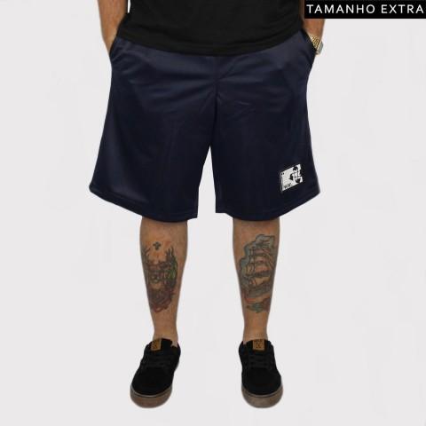 Bermuda Pixa In Helanca (Tamanho Extra) - Azul escuro