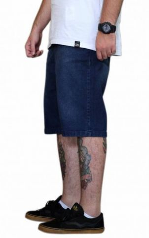 Bermuda Skkyl Jeans Big Thunder Azul