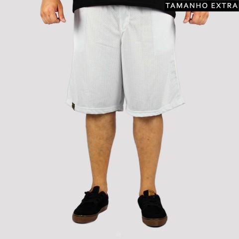 Bermuda XXL Basquete (Tamanho Extra) - Branca