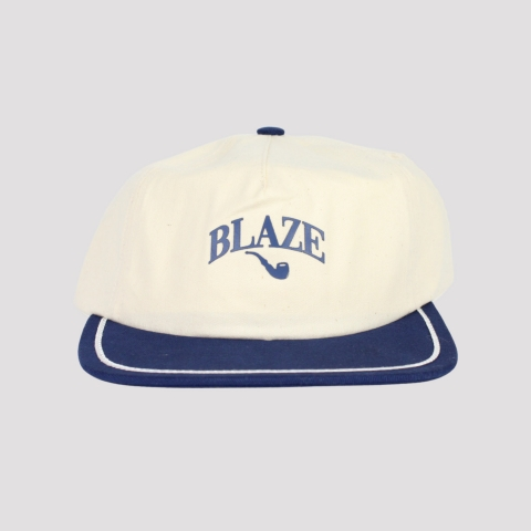 Boné Blaze Supply Snapback College - Off White