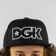 Boné DGK Outline Snapback Black