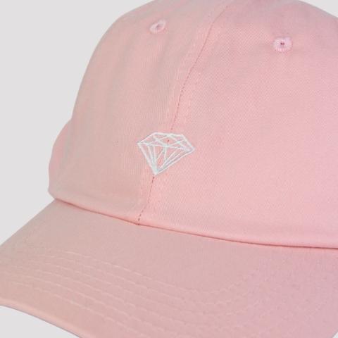 Boné Diamond Micro Brilliant Dad Hat - Rosa