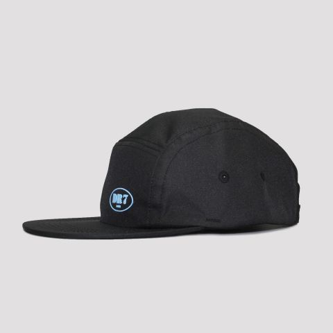 Boné DR7 Five Panel Logo - Preto/Azul