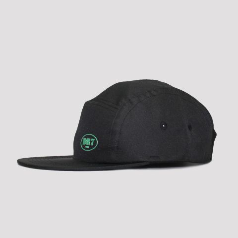Boné DR7 Five Panel Logo - Preto/Verde