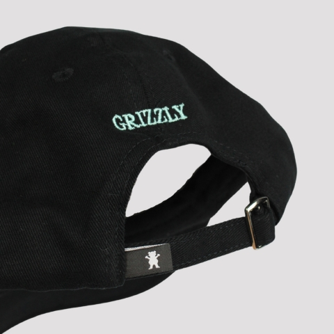 Boné Grizzly OG Bear Dad Hat - Black