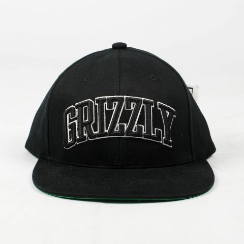 Boné Grizzly Top Team Snapback Preto