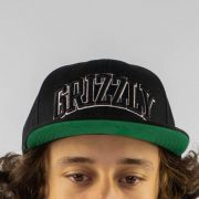 Boné Grizzly Top Team Snapback Preto