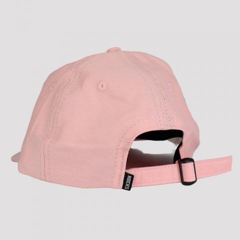 Boné Hocks Lettering Strapback Dad Hat - Rosa