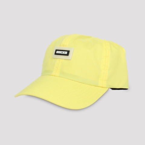 Boné Hocks Strapback Dad Hat Logo - Amarelo