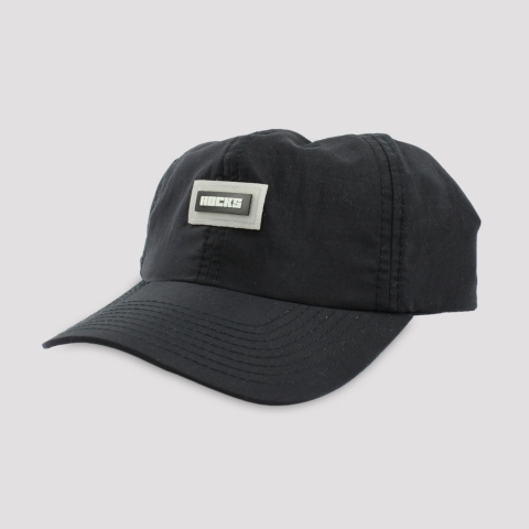 Boné Hocks Strapback Dad Hat Logo - Preto