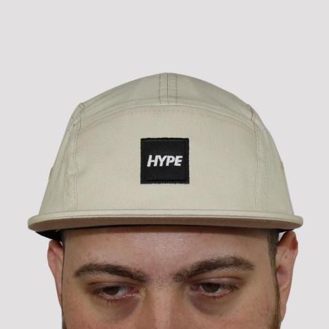 Boné Hype Five Panel - Bege